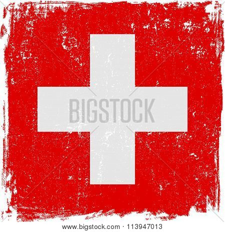 Swiss Vector Flag