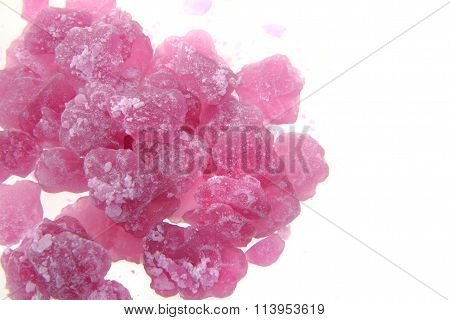 Violet Candies Isolated