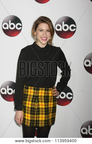 LOS ANGELES - JAN 9:  Eden Sher at the Disney ABC TV 2016 TCA Party at the The Langham Huntington Hotel on January 9, 2016 in Pasadena, CA