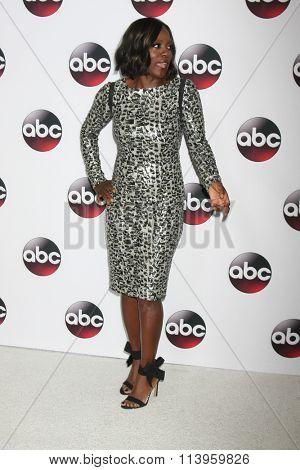 LOS ANGELES - JAN 9:  Viola Davis at the Disney ABC TV 2016 TCA Party at the The Langham Huntington Hotel on January 9, 2016 in Pasadena, CA