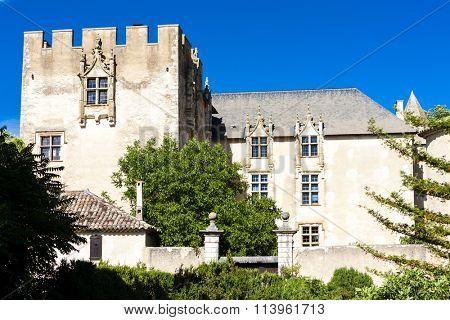 castle in Allemagne en Provence, Provence, France