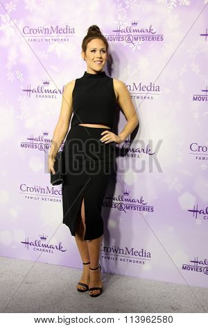 LOS ANGELES - JAN 8:  Erin Krakow at the Hallmark Winter 2016 TCA Party at the Tournament House on January 8, 2016 in Pasadena, CA