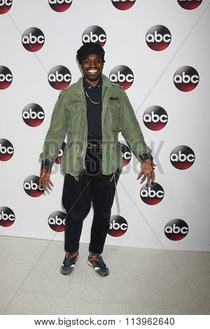 LOS ANGELES - JAN 9:  Andre Benjamin, aka Andre 3000 at the Disney ABC TV 2016 TCA Party at the The Langham Huntington Hotel on January 9, 2016 in Pasadena, CA