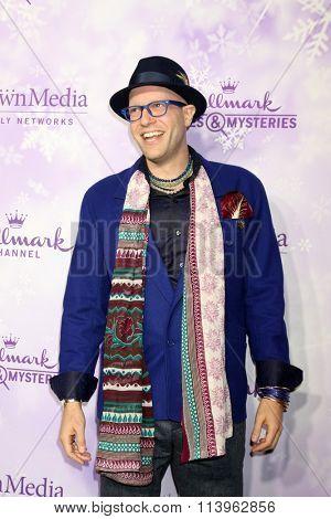 LOS ANGELES - JAN 8:  Dan Kohler at the Hallmark Winter 2016 TCA Party at the Tournament House on January 8, 2016 in Pasadena, CA