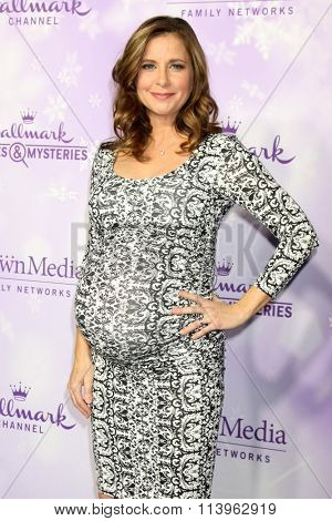 LOS ANGELES - JAN 8:  Kellie Martin at the Hallmark Winter 2016 TCA Party at the Tournament House on January 8, 2016 in Pasadena, CA