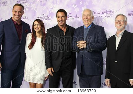 vLOS ANGELES - JAN 8:  Mark Steines, Home and Family correspondents at the Hallmark Winter 2016 TCA Party at the Tournament House on January 8, 2016 in Pasadena, CA