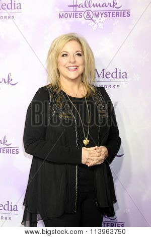 LOS ANGELES - JAN 8:  Nancy Grace at the Hallmark Winter 2016 TCA Party at the Tournament House on January 8, 2016 in Pasadena, CA