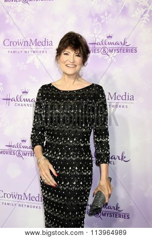 LOS ANGELES - JAN 8:  Martha Williamson at the Hallmark Winter 2016 TCA Party at the Tournament House on January 8, 2016 in Pasadena, CA