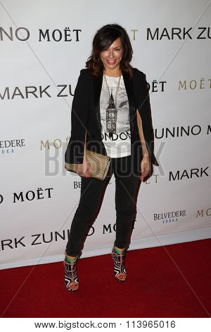LOS ANGELES - JAN 7:  Luciana Caporaso at the Mark Zunino Atelier Opening at the Mark Zunino Atelier Boutique on January 7, 2016 in Beverly Hills, CA