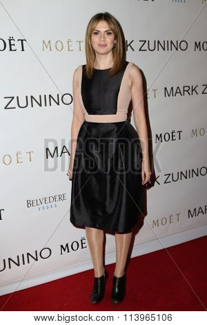 LOS ANGELES - JAN 7:  Carly Steel at the Mark Zunino Atelier Opening at the Mark Zunino Atelier Boutique on January 7, 2016 in Beverly Hills, CA