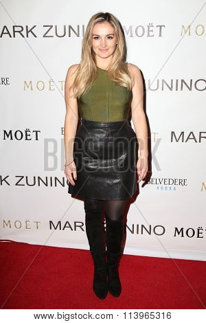 LOS ANGELES - JAN 7:  Rachael O'Brien at the Mark Zunino Atelier Opening at the Mark Zunino Atelier Boutique on January 7, 2016 in Beverly Hills, CA