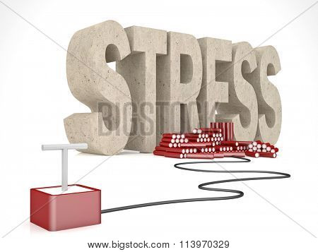 3d stress word and tnt solution