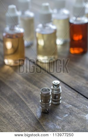 Different Re-fill Bottles For E-cigarettes