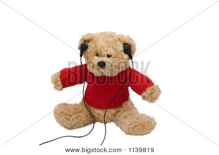 Teddy Listening To Music