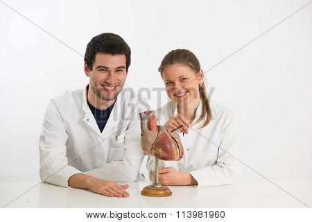 Young Scientists With Heart