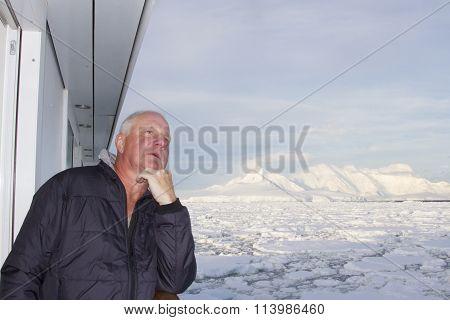 Cruiser In Antarctica