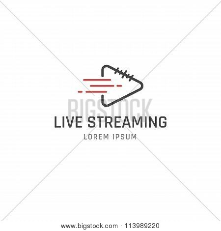 Live Streaming sign