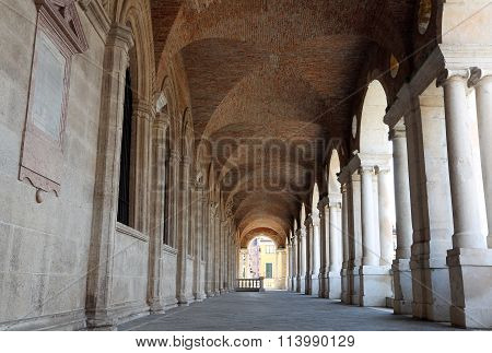 Palladian Basilica The Great Public Monument Of The City Of Vicenza In Italy