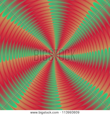 Colorful Illustration Of Psycho Spiral