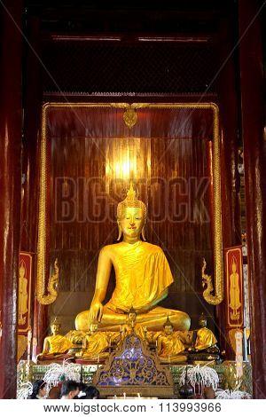 Wat Pan Tao in Chiang Mai Thailand
