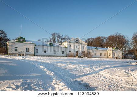 The Volkonsky House in Yasnaya Polyana. Tula, Russia