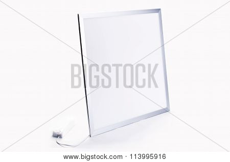Rectangular Lamp On The White Bacground