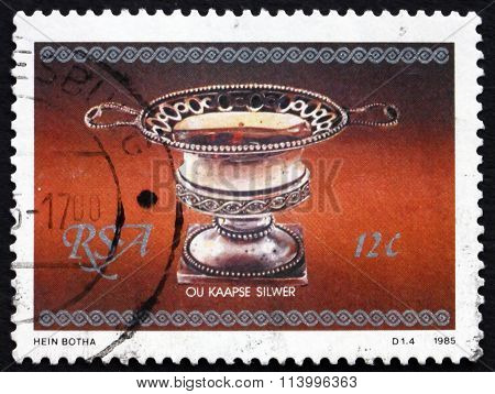 Postage Stamp South Africa 1985 Sugar Bowl, Cape Silver