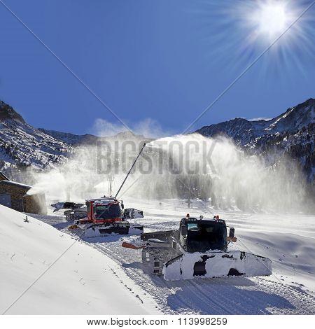 Ratrack For Snow Preparation