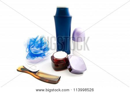 Deodorant, Cream, Wisp And Comb