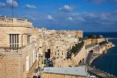 picture of olden days  - View of Valletta and Grand Harbour - JPG