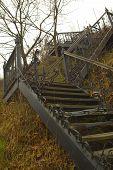 Outdoor Stairway poster