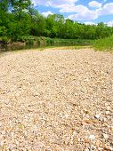 image of winnebago  - The Kishwaukee River winds through northern Illinois on a sunny summer day - JPG
