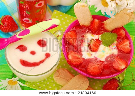Desserts With Strawberries For Baby