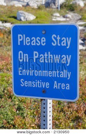 Enviromental Sign
