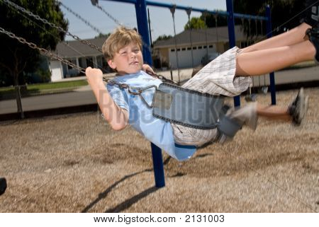 Swinging At School