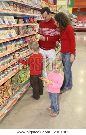 Family At Superstore