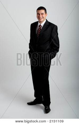 Handsome Businessman