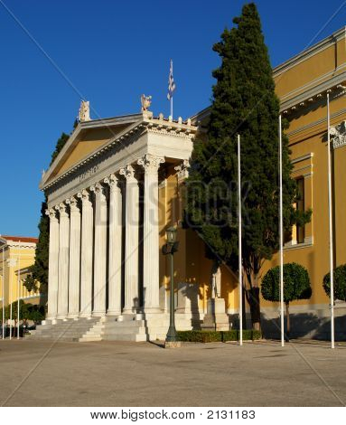 Zappeion Mansion In Athens