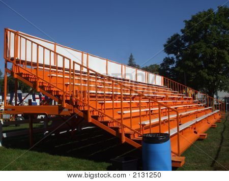 Orange Bleachers