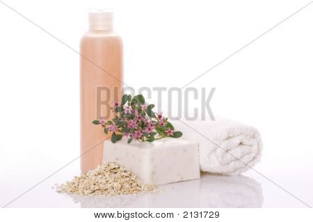 Spa. Bath Items