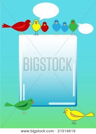 Bird Advertisement
