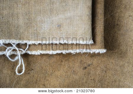 Canvas, Rough Fabric Khaki Fabric