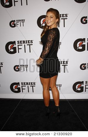 LOS ANGELES - APR 12:  Coco Ho at the 'Gatorade G Series Fit Launch Event' at the SLS Hotel in Los Angeles, California on April 12, 2011.