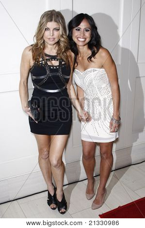 WEST HOLLYWOOD - APR 13: Fergie aka Stacy Ferguson, Kimberly Snyder at the Kimberly Snyder Book Launch Party For 'The Beauty Detox Solution' at The London Hotel in West Hollywood, CA on April 13, 2011