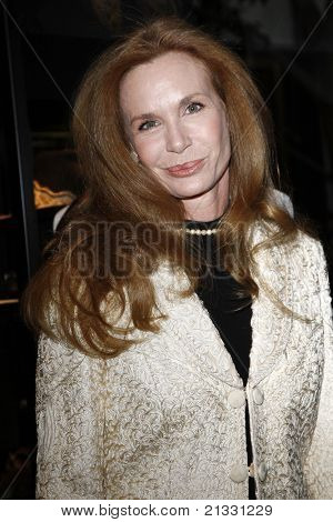BEVERLY HILLS, CA - JUN 01: Mary Crosby at the opening party of the Larry Hagman Collection at Julian's Auction House on June 1, 2011 in Beverly Hills, California