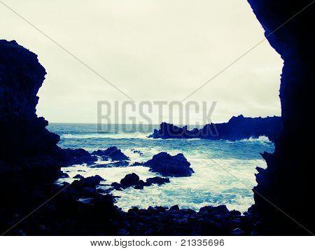 Cliffside Easter Island