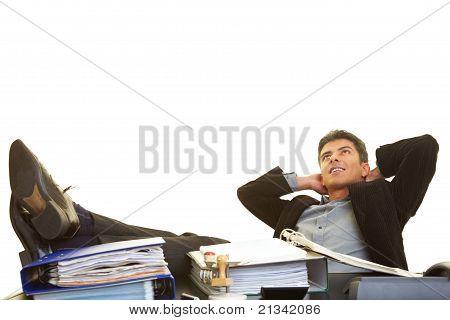 Feet On The Desk