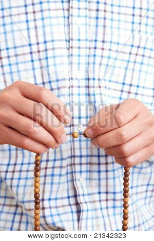 Praying With Chain