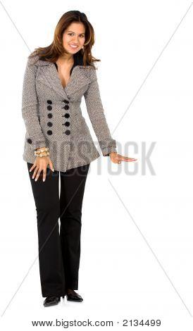 Business Woman Display