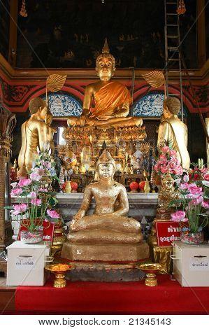 Principle Buddha Image In A Temple